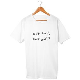 one day, one happy Tシャツ 5.6oz