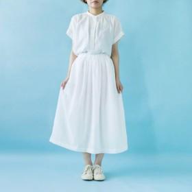 ◎雪の色のギャザースカート◎104