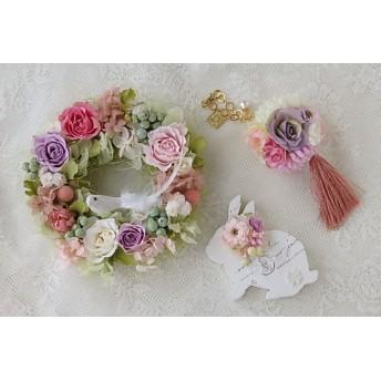 お花いっぱいの福袋♪ピンク&ラベンダー