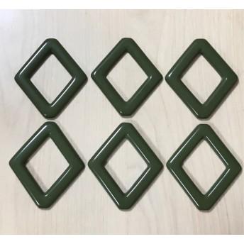 GREEN DIAMOND FLAME ACRYLIC PARTS