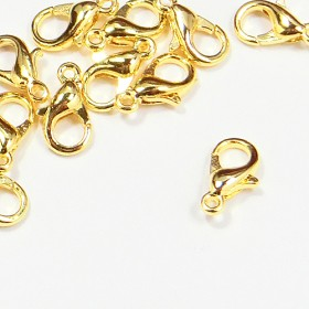 カニカン10mm(ゴールド) 10個セット