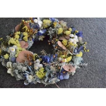 【送料無料】月夜の秋wreath