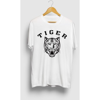TIGER タイガー 虎 カレッジロゴTシャツ アメカジ