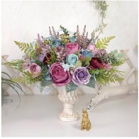 フラワーアレンジメント 開店祝い 新築祝い アンティークフラワー 結婚祝い フラワーギフト 薔薇のアレンジ 新築祝い