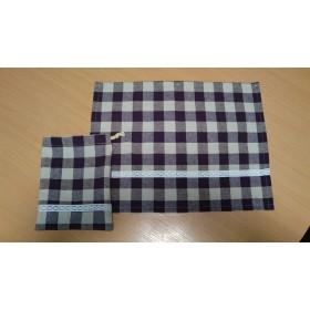 給食ナプキン&巾着袋のセット