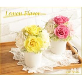 レモンイエローのアレンジメント Lemon Flavor(レモンフレイバー)A077