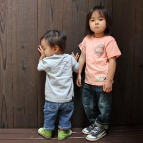 【JIKUU BY SLC】 コットン/キッズTシャツ『JIKUU by SLC』パステル