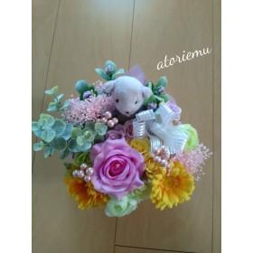 可愛いベアとお花たち ベアシリーズ 母の日ギフト