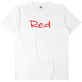 【受注発注】words color series Red T-shirt / white