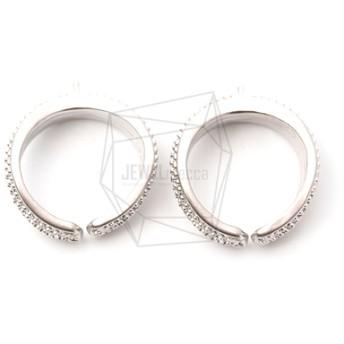 ERG-1055-MR【2個入り】オーバルイヤーカフ/Round Earcuffs Earrings