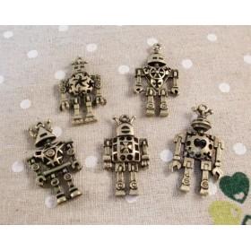 メタルチャーム ロボット 5種各1個 計5個セット