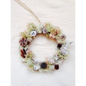 wreath Pistachio (フラワーリース)