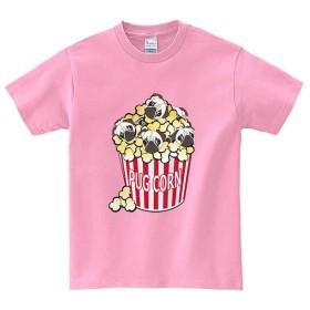 半袖Tシャツ 【ポップコーンパグ】 by FOX REPUBLIC