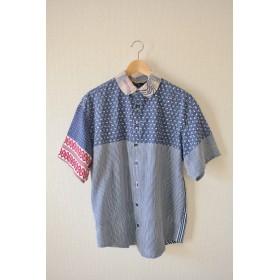 Men's 5種の浴衣の爽やか夏半袖シャツ (no.187)