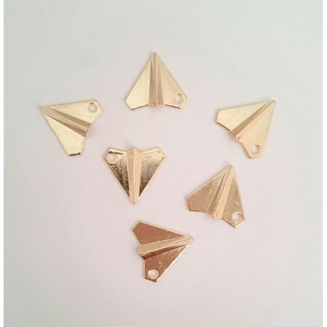 紙飛行機 チャーム 6個