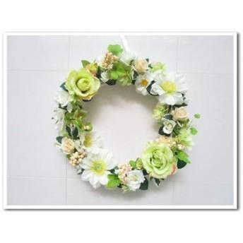 ◆セール!格安特価◆アーティフィシャルフラワー◆豪華なフレッシュリースアートフラワー造花