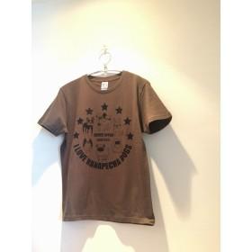 鼻ぺちゃ6犬種ア-ミ-テイストシャツ