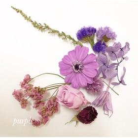 シェア花材*パープル
