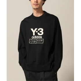 417 EDIFICE 【Y-3 / ワイスリー】M STACKED LOGO CREW SWEATER ブラック L