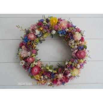 atelier blugra八ヶ岳〜春待ち小花のWreath01