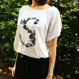 SマークTシャツ