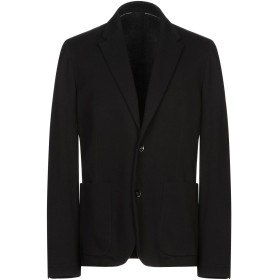 《期間限定セール開催中!》PAOLO PECORA メンズ テーラードジャケット ブラック 54 コットン 95% / ポリウレタン 5%