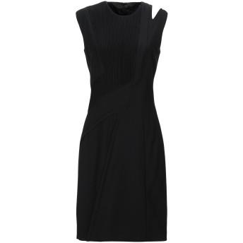 《セール開催中》SIVIGLIA レディース ミニワンピース&ドレス ブラック 40 ウール 100%