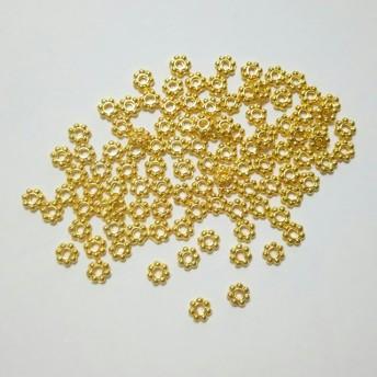 スペーサー ゴールド 6mm 約100個