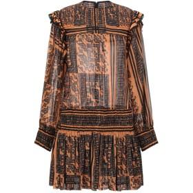 《セール開催中》PHILOSOPHY di LORENZO SERAFINI レディース ミニワンピース&ドレス ブラック 40 コットン 72% / シルク 28%
