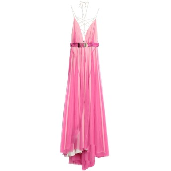 《セール開催中》RELISH レディース ロングワンピース&ドレス フューシャ XS ポリエステル 100%