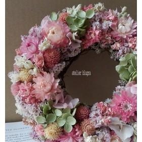 atelier blugra八ヶ岳〜PinkWreath02