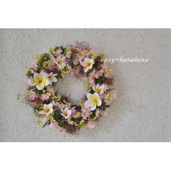 プルメリアの夏wreath