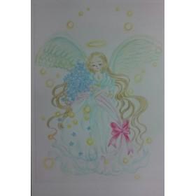祈り妖精の花束