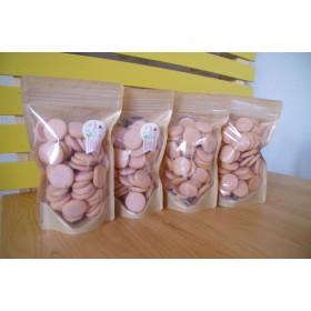 【卵不使用】奈良のいちごと米粉で作った[古都華いちごクッキー]200枚入り大袋 {受注生産]