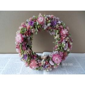 atelier blugra八ヶ岳〜ミナズキとピンク小花Wreath04