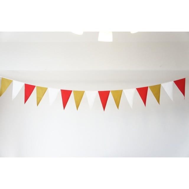布ガーランド 290cm フラッグ 旗 結婚式 誕生日 パーティー キャンプ 飾り エレガンス