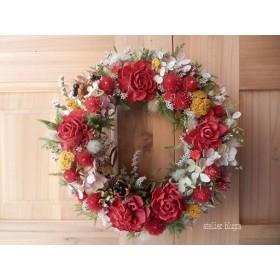 atelier blugra八ヶ岳〜ミナズキとソラフラワーのWreath