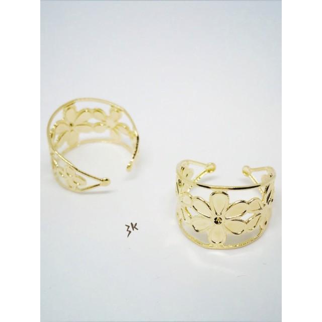 指輪用透かしパーツ ゴールド no.89