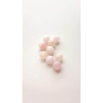 【8mm 2粒】モルガナイト 丸玉 天然石