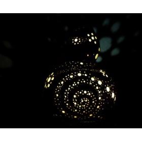 ひょうたんランプ 花の河