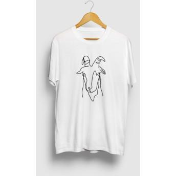 ヤギ イラスト 山羊 動物アートTシャツ