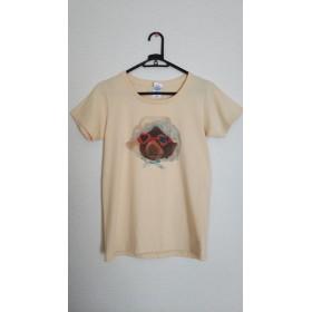 ぬいぐるみデザインTシャツ