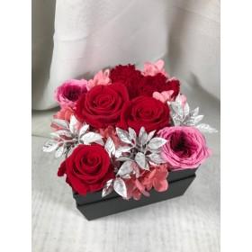 FLOWER BOX RED