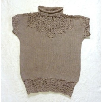 手編みサマーベスト