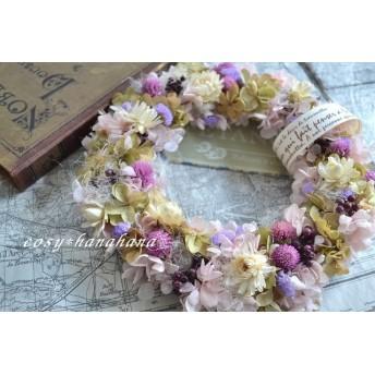 パステル春色wreath