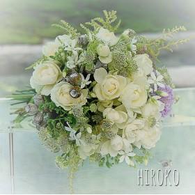 ミニバラと小花のナチュラルブーケ