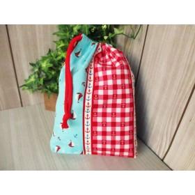 巾着袋(24cm×18cm)*給食袋*入園入学/通園通学【70-A】