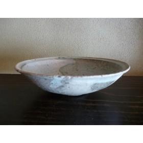粉引縁付浅鉢