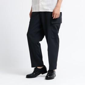 tk.TAKEO KIKUCHI(ティーケー タケオキクチ:メンズ)/シャンブレーエステルカーゴパンツ