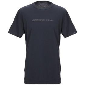 《セール開催中》NAPAPIJRI メンズ T シャツ ダークブルー S コットン 100%